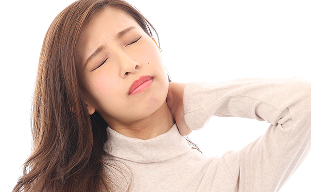 長引く肩こりや首の痛み
